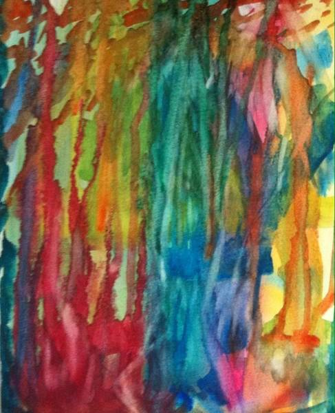 Wall Art - Painting - 2016 Abstract by Lessandra Grimley
