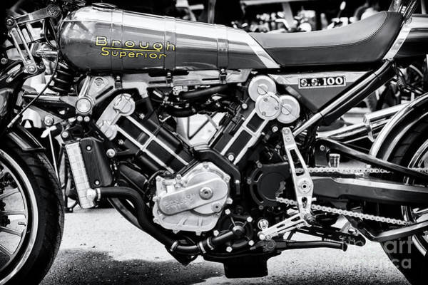 Photograph - 2016 Brough Superior Ss100 by Tim Gainey