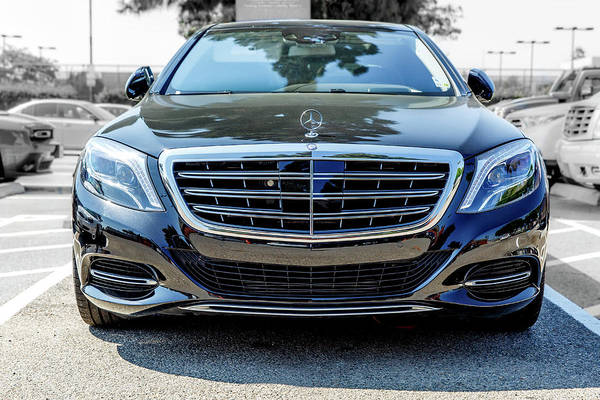 Photograph - 2016 Mercedes Maybach S600 by Gene Parks