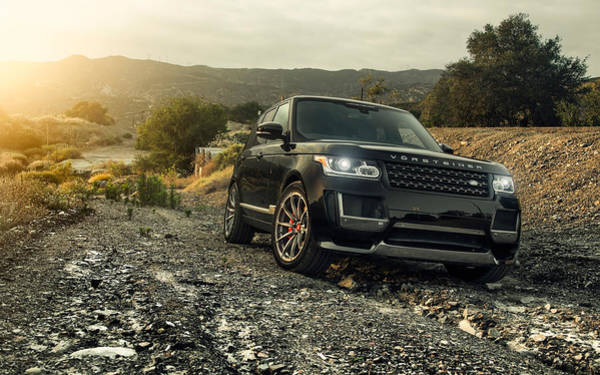 Wall Art - Digital Art - 2016 Vorsteiner Range Rover V Ff 102 by Mery Moon