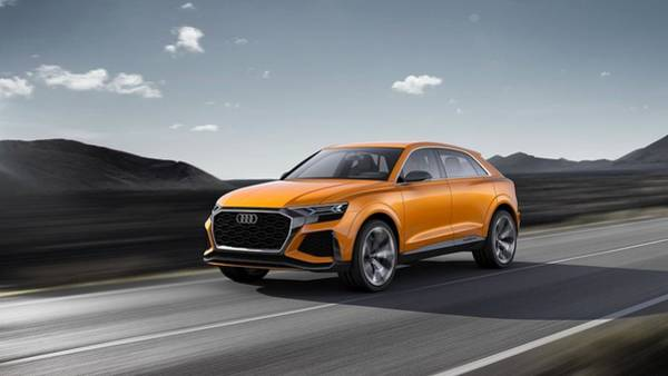 Q Digital Art - 2017 Audi Q8 Sport Concept  by Mery Moon