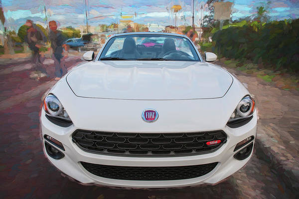 Photograph - 2017 Fiat 124 Spider C142 by Rich Franco