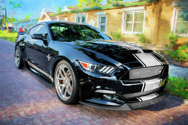 Photograph - 2017 Ford Gt Shelby Mustang Anniversary Edition by Rich Franco
