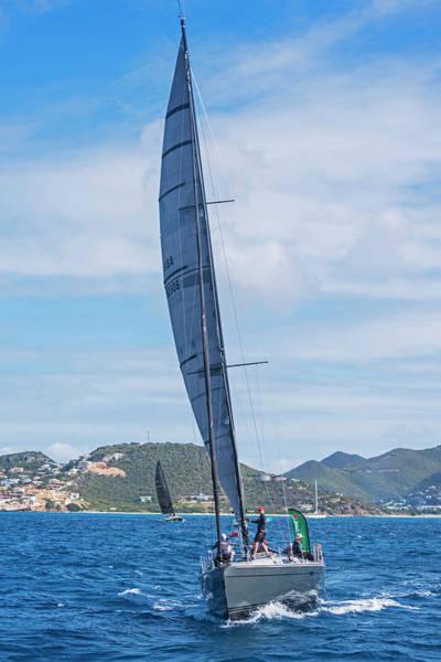 Photograph - 2017 Heineken Regatta Saint Martin Sint Maarten Sailboat by Toby McGuire