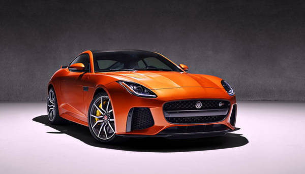 Photograph - 2017 Jaguar F Type by Movie Poster Prints