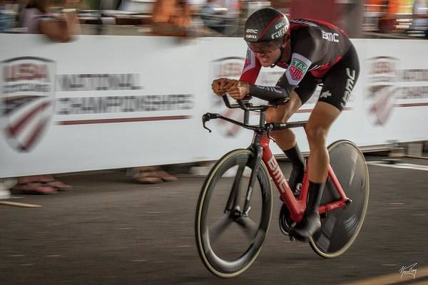 Photograph - 2017 Time Trial Champion by Norman Peay