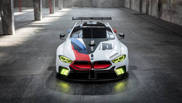 Wall Art - Digital Art - 2018 Bmw M8 Gte 3 by Mery Moon