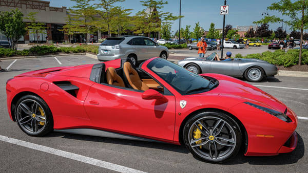 Photograph - 2018 Ferrari 488 Spider by Randy Scherkenbach