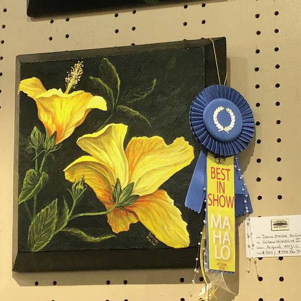 Painting - 2018 Laa Best In Show by Darice Machel McGuire
