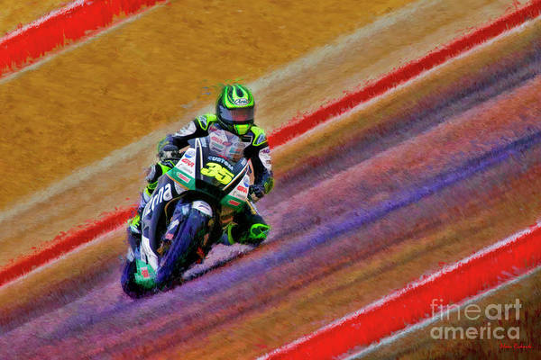 Photograph - 2018 Motogp Cal Crutchlow Middle Of The Art by Blake Richards