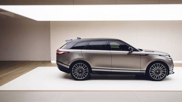 Wall Art - Digital Art - 2018 Range Rover Velar 5k  by Mery Moon