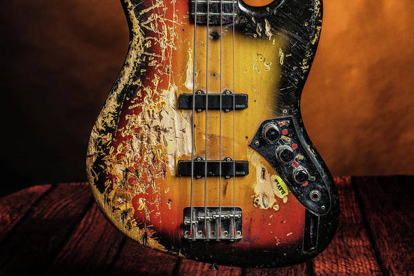 Photograph - 20.1834 011.1834c Jazz Bass 1969 Old 69 by M K Miller