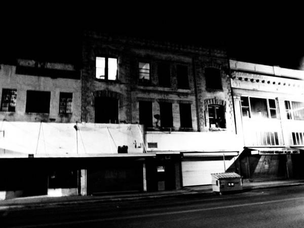 Downtown El Paso Photograph - 207 And A Half by Nicholas Haddox