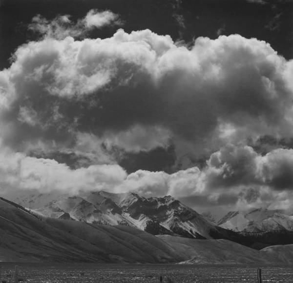 Photograph - 207519-bw Clouds Over Lost River Range by Ed Cooper Photography