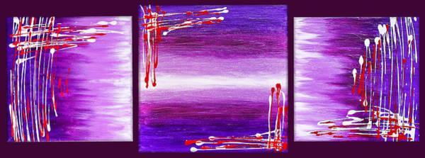 Pale Blue Dot Wall Art - Painting - 207917-24-27 by Svetlana Sewell