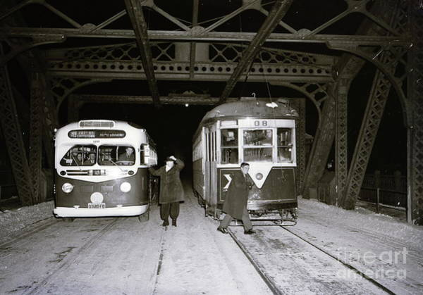 Photograph - 207th Street Crosstown Trolley by Cole Thompson