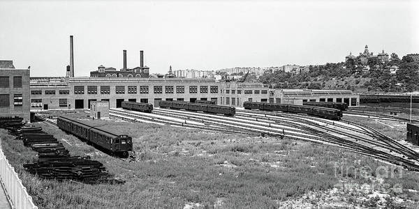 Photograph - 207th Street Railyard by Cole Thompson