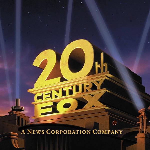 Digital Art - 20th Century Fox Art Deco Logo by Chuck Staley