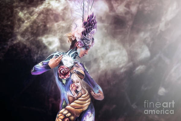 Photograph - Bodypainting by Traven Milovich