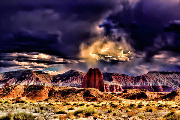 Photograph - Capitol Reef National Park Catherdal Valley by Mark Smith