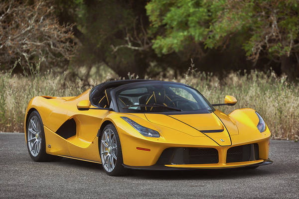 Photograph - #ferrari #laferrari #aperta #print by ItzKirb Photography