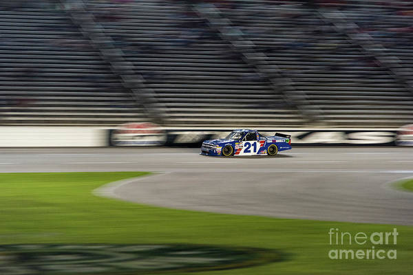 Photograph - Johnny Sauter #21 by Paul Quinn
