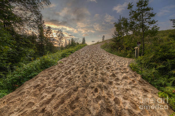 Sleeping Bear Dunes Wall Art - Photograph - Sleeping Bear Point Trail by Twenty Two North Photography