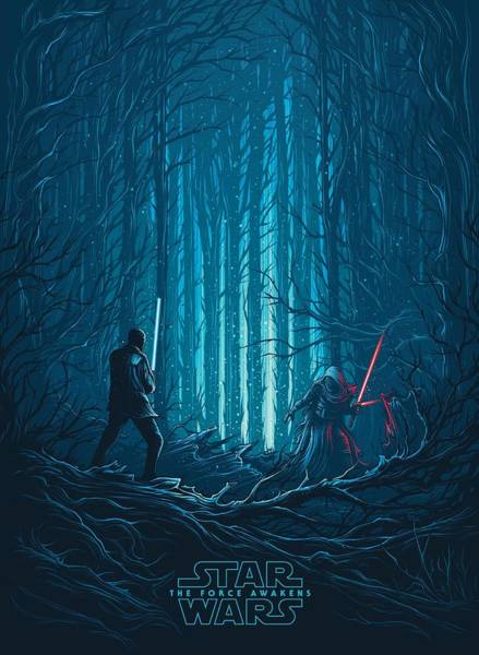 Sith Digital Art - Star Wars Episode Vii - The Force Awakens 2015 by Geek N Rock