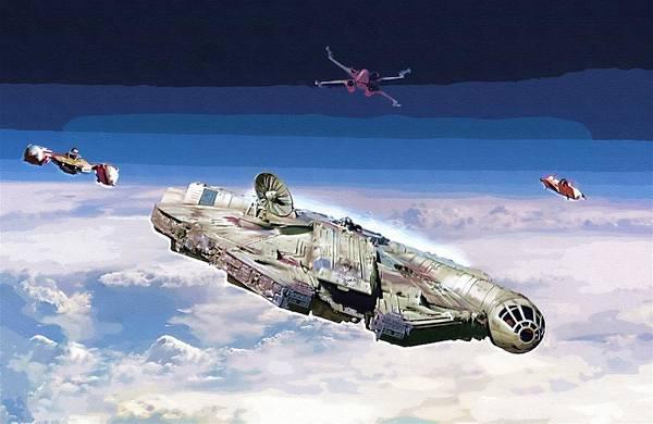 R2-d2 Digital Art - Star Wars Saga Poster by Larry Jones