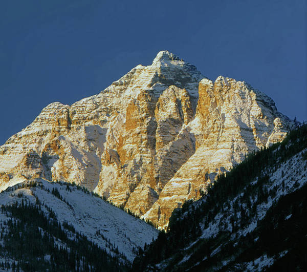 210418 Pyramid Peak Art Print