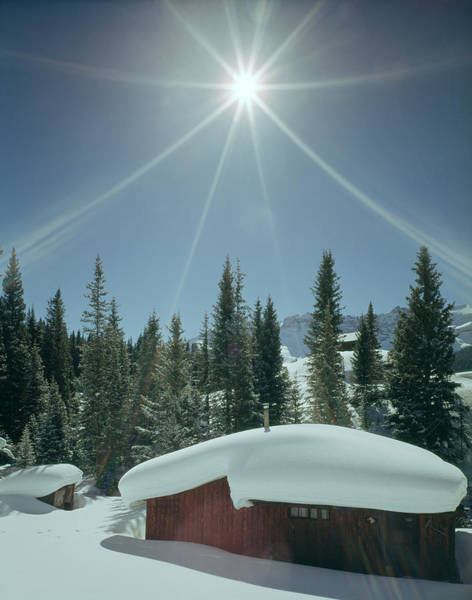 Photograph - 210613 Sunburst Over Co Cabin by Ed Cooper Photography