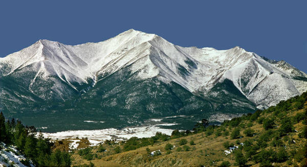 Photograph - 210715 Mt. Princeton by Ed Cooper Photography