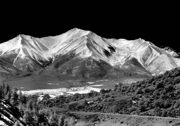 Photograph - 210716-ir Mt. Princeton Infrared by Ed Cooper Photography
