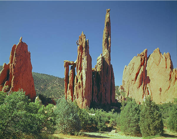Photograph - 210806-h Spires In Garden Of The Gods by Ed Cooper Photography