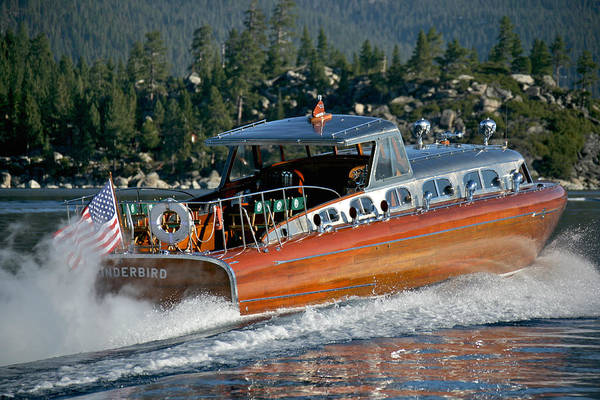 Photograph - Thunderbird On Lake Tahoe by Steven Lapkin