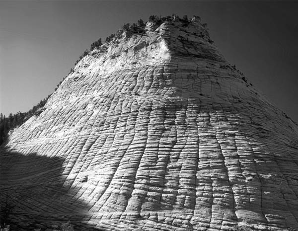 Photograph - 212466-bw Checkerboard Mesa by Ed Cooper Photography