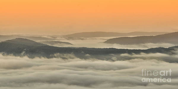 Highland Scenic Highway Wall Art - Photograph - Allegheny Mountain Sunrise #14 by Thomas R Fletcher
