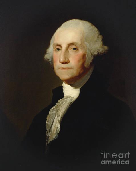 Congress Painting - George Washington by Gilbert Stuart