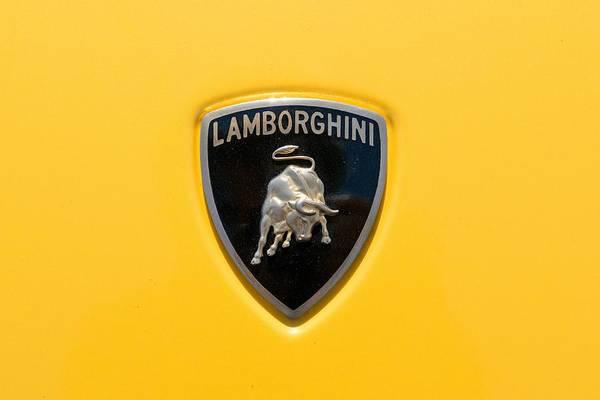 Lamborghini Badge Wall Art Pixels