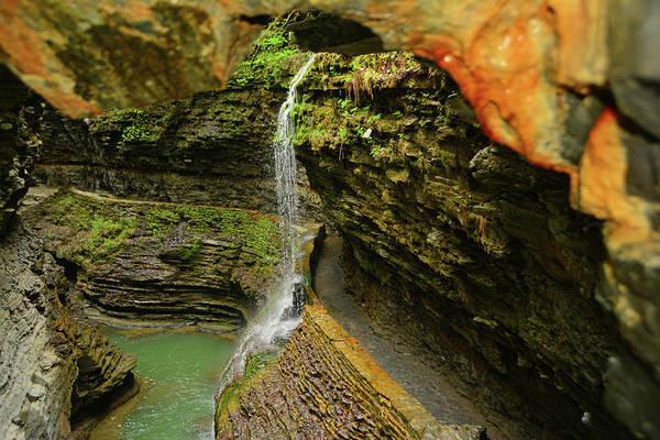 Photograph - Watkins Glen State Park by Raymond Salani III