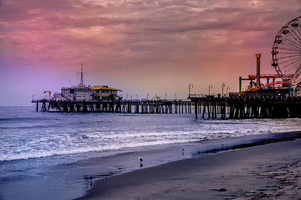 Photograph - Santa Monica Pier Collection- 25/36 by Gene Parks