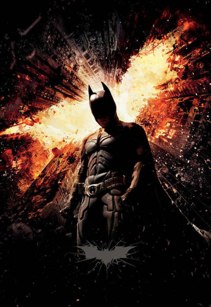 Wall Art - Digital Art - The Dark Knight Rises 2012  by Geek N Rock