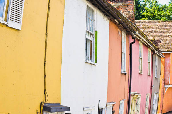 Yellow Brick Road Wall Art - Photograph - Town Houses by Tom Gowanlock