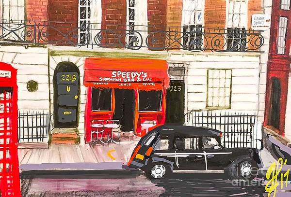 Painting - 221b by Francois Lamothe