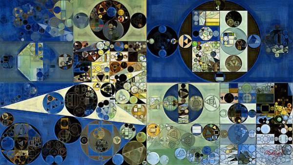 Laurel Wall Art - Digital Art - Abstract Painting - Onyx by Vitaliy Gladkiy