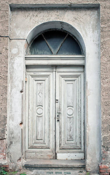 Archway Photograph - Old Door by Tom Gowanlock