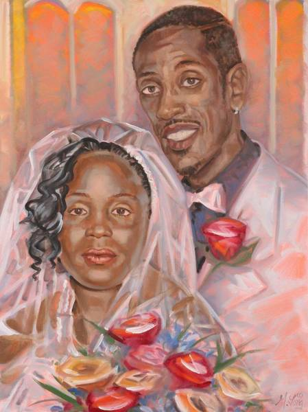 Painting - Wedding Day by Gary M Long