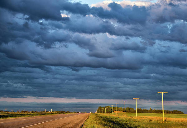Wall Art - Photograph - Prairie Storm Clouds Canada by Mark Duffy