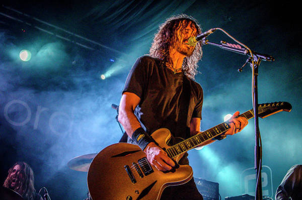 Photograph - Uk Foo Fighters Live @ Concorde 2 by Edyta K Photography