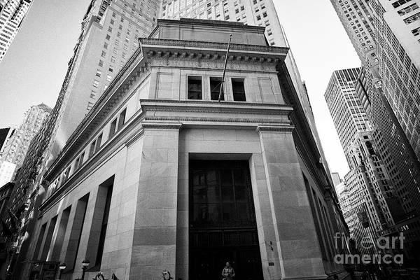 Wall Art - Photograph - 23 Wall Street New York City Usa by Joe Fox